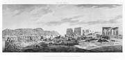 A Vol. I — Île de Philæ — Pl. 4 - Vue des monuments de l'île et des montagnes de granit qui l'environnent