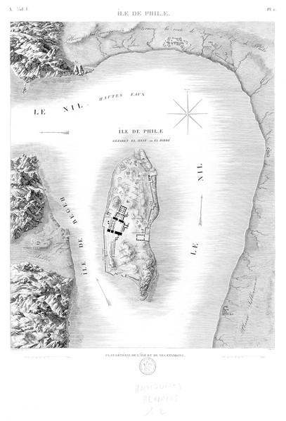 A Vol. I — Île de Philæ — Pl. 1