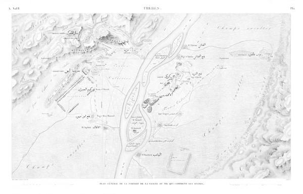 A Vol. II — Thèbes — Pl. 1