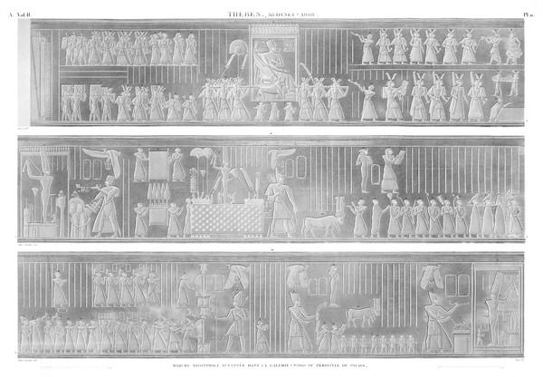 A Vol. II — Thèbes Medynet-Abou — Pl. 11