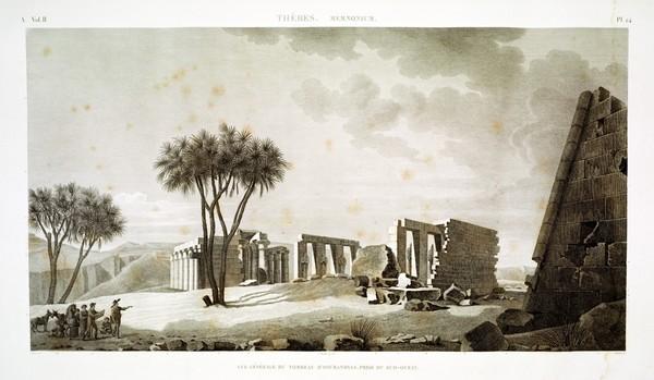 A Vol. II — Thèbes. Memnonium — Pl. 24