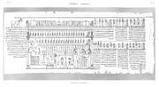 A Vol. II — Thèbes Hypogées — Pl. 60 - Manuscrit sur papyrus