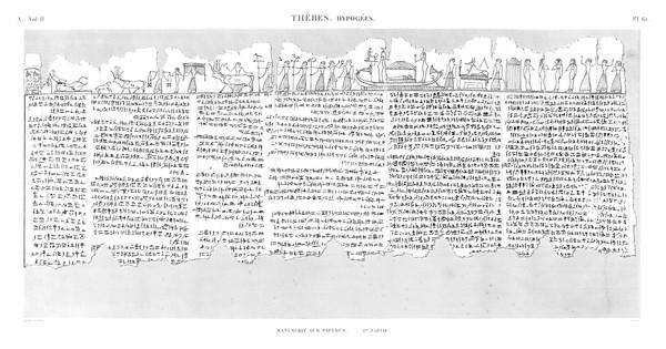 A Vol. II — Thèbes Hypogées — Pl. 61