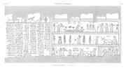 A Vol. II — Thèbes Hypogées — Pl. 63 - Manuscrit sur papyrus 3ème partie