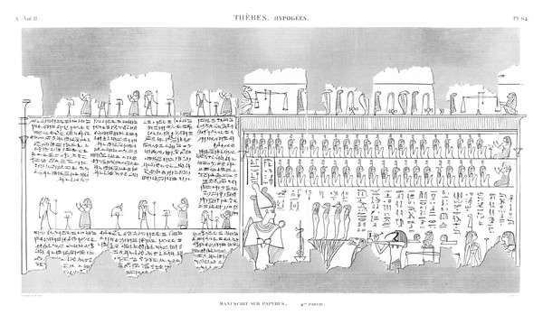 A Vol. II — Thèbes Hypogées — Pl. 64