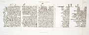 A Vol. II — Thèbes. Hypogées — Pl. 66 - Manuscrit sur papyrus.