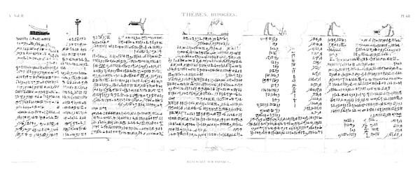 A Vol. II — Thèbes Hypogées — Pl. 68