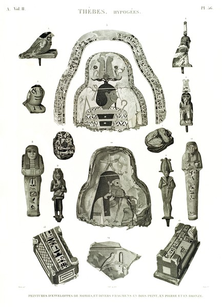 A Vol. II — Thèbes. Hypogées — Pl. 56
