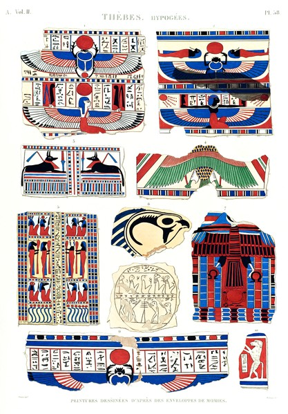 A Vol. II — Thèbes. Hypogées — Pl. 58
