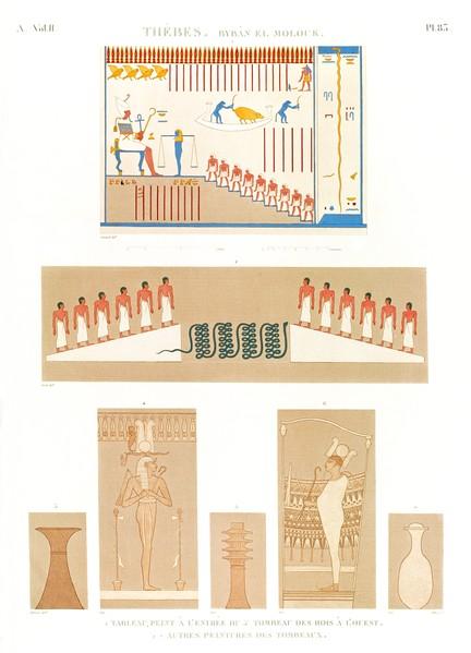 A Vol. II — Thèbes. Bybân el Molouk — Pl. 83
