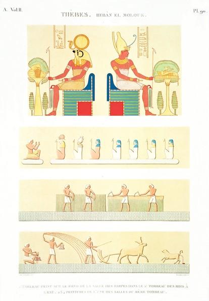 A Vol. II — Thèbes. Bybân el Molouk — Pl. 90