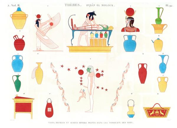 A Vol. II — Thèbes. Bybân el Molouk — Pl. 92