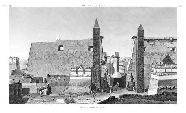 A Vol. III — Thèbes Louqsor — Pl. 3