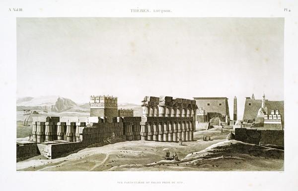 A Vol. III — Thèbes. Louqsor. — Pl. 4
