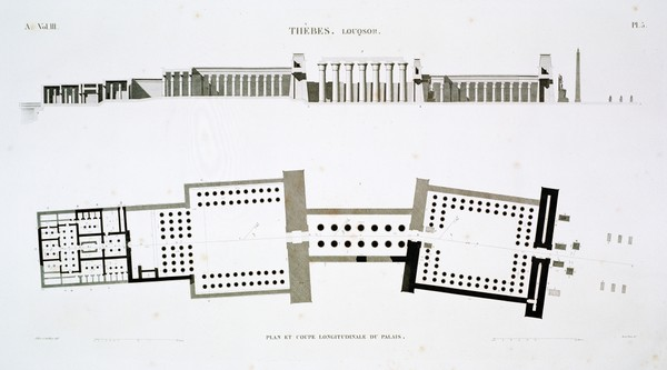 A Vol. III — Thèbes. Louqsor. — Pl. 5
