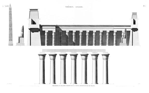 A Vol. III — Thèbes Louqsor — Pl. 7