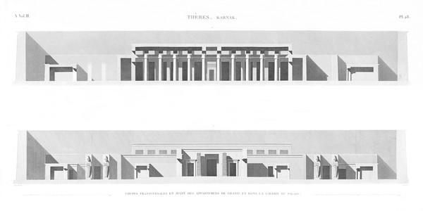 A Vol. III — Thèbes Karnak — Pl. 28