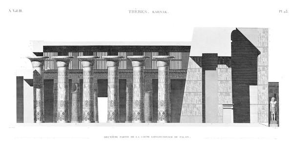 A Vol. III — Thèbes Karnak — Pl. 23