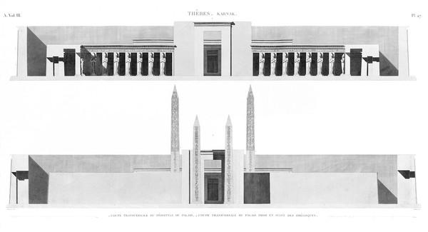 A Vol. III — Thèbes Karnak — Pl. 27