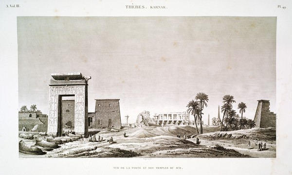 A Vol. III — Thèbes. Karnak. — Pl. 49