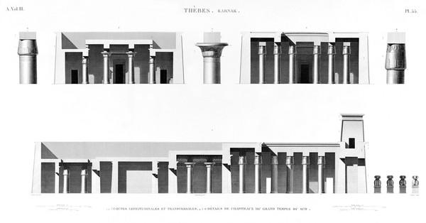 A Vol. III — Thèbes Karnak — Pl. 55