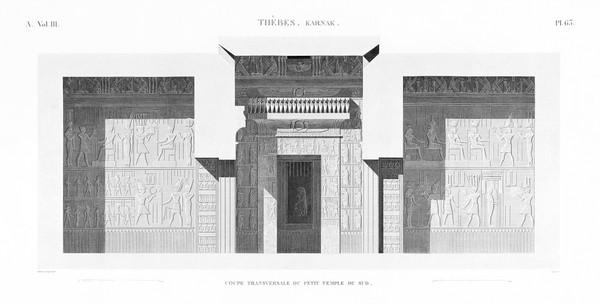 A Vol. III — Thèbes Karnak — Pl. 63