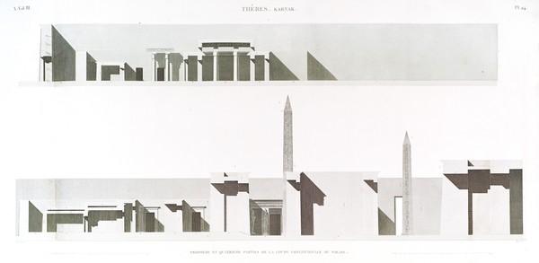 A Vol. III — Thèbes. Karnak. — Pl. 24