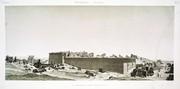 A Vol. IV — Denderah (Tentyris) — Pl. 3 - Vue générale des ruines de l'ouest.