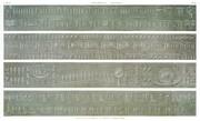 A Vol. IV — Denderah (Tentyris) — Pl. 19 - Détail de quatre soffites du portique du grand temple