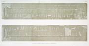 A Vol. IV — Denderah (Tentyris) — Pl. 20 - Zodiaque sculpté au plafond du portique du grand temple