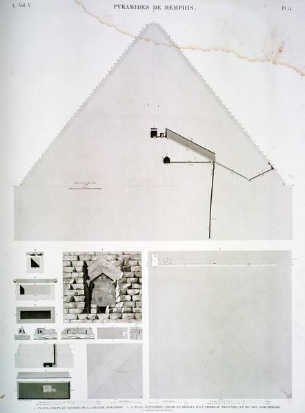 A Vol. V — Pyramides de Memphis — Pl. 14