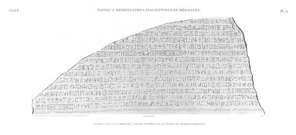A Vol. V — Papyrus, hiéroglyphes, inscriptions et médailles — Pl. 32