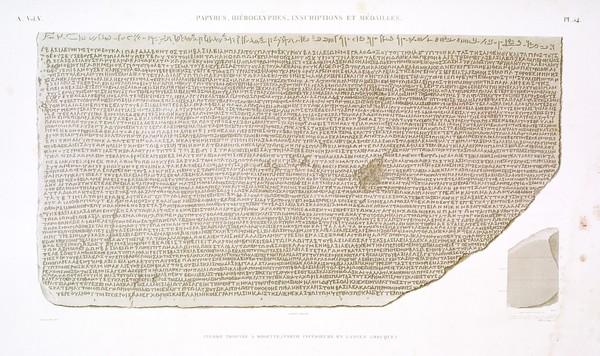 A Vol. V — Papyrus, hiéroglyphes, inscriptions et médailles — Pl. 54