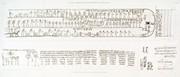 A Vol. V — Papyrus, hiéroglyphes, inscriptions et médailles — Pl. 44 - 1.7. Manuscrits sur papyrus 2.3.4.5.6. Fragmens de manuscrits
