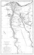 Carte - Égypte nommée dans le pays Missir