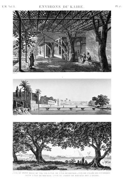 EM Vol. I — Environs du Kaire — Pl. 17