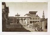 EM Vol. I — Le Kaire — Pl. 50 - Vue intérieure de la maison d'Osmân Bey.