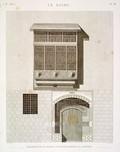 EM Vol. I — Le Kaire — Pl. 58 - Élévation de la maison d'Ibrahim Kikheyd El Sennary