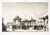 EM Vol. I — Le Kaire — Pl. 66 - Vue perspective d'une partie des tombeaux.
