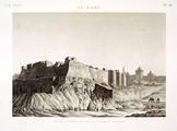 EM Vol. I — Le Kaire — Pl. 68 - Vue de la citadelle du côté de la porte du Moqattam.