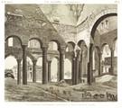 EM Vol. I — Le Kaire (citadelle) — Pl. 70 - Vue intérieure d'une mosquée. Connue sous le nom de Divan de Joseph.