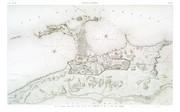 EM Vol. II — Alexandrie — Pl. 84 - Plan général des deux ports. De la ville moderne. Et de la ville des arabes.