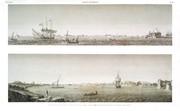 EM Vol. II — Alexandrie — Pl. 88 - 1. Vue du port neuf prise en mer du coté du nord 2. Vue du port vieux prise en rade du coté du sud-ouest