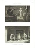 EM Vol. II — Arts et métiers — Pl. XI - 1. Le vinaigrier 2. Le distillateur