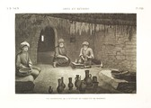 EM Vol. II — Arts et métiers — Pl. XXII - Vue intérieure de l'attélier du fabricant de poteries