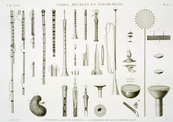 EM Vol. II — Vases, meubles et instrumens — Pl. CC