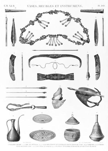 EM Vol. II — Vases, meubles et instrumens — Pl. DD